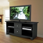 Elite Flat Panel TV Stand with Two Storage Drawers, CD00613