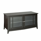 "49""W TV Stand with Glass Doored Storage, CD01004"
