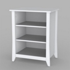 End Table with Shelves, CD01985