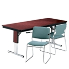 "Rectangular Folding Conference Table - 72"" x 24"", 40538"