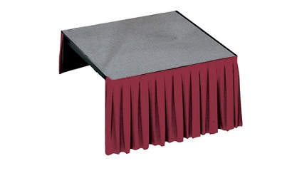 "Carpet Platform- 72""Wx48""Dx8""H, 80050"