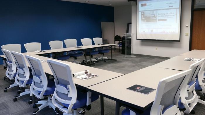 training room set up