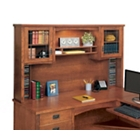 Mission Oak Hutch with Glass Doors, 10930