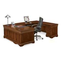 Pont Lafayette U-Desk with Right Return, 13265