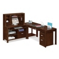 Carlton L-Desk Complete Workstation, 13337