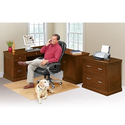 Statesman Compact Right L-Desk Set, 13457