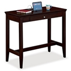 "Espresso 48""W Standing-Height Desk, 13473"