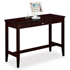 "Espresso 60""W Standing-Height Desk, 13474"