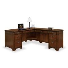 Kensington L-Desk with Right Return, 13501