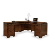 Kensington L-Desk with Left Return, 13502