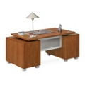 Santa Clara Double Pedestal Executive Desk, 13553-1