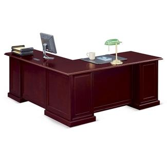"Cumberland L-Desk with Right Return - 72""W, 13886"