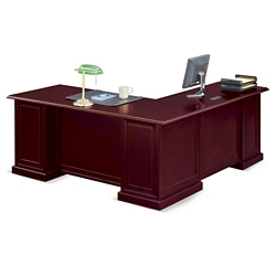 "Cumberland L-Desk with Left Return - 72""W, 13887"