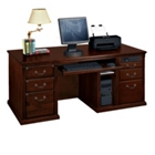 Huntington Cherry Executive Computer Desk, 15041