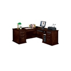 Huntington Cherry Traditional L-Desk with Right Return, 15044