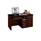 Huntington Cherry Single Pedestal Computer Desk, 15046
