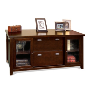 Cherry Storage Credenza with Doors, 15667