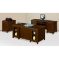 Tribeca Loft Cherry Executive Office Set, 86186