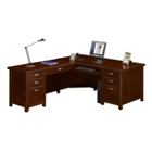 Tribeca Loft Cherry L-Desk with Left Return, 15991