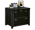 "30"" W Two Drawer Lateral File with a Distressed Finish, 30448"