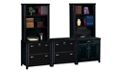 Distressed Finish Complete Wall Storage Grouping , 31585