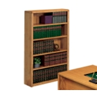 Medium Oak Open Bookcase, 32508