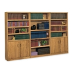 Medium Oak Library Wall, 32530