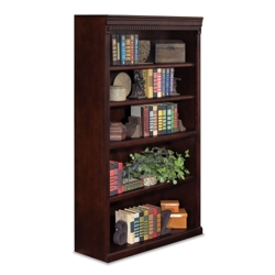 "Five Shelf Traditional Bookcase - 60""H, 32553"