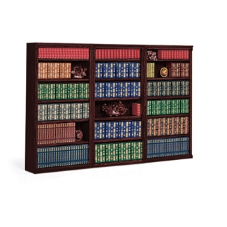 "72"" H 18 Shelf Library Wall Unit, 32859"