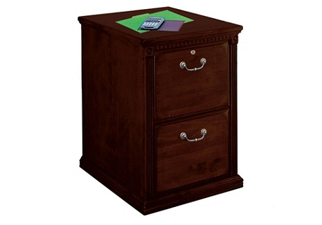 "Two Drawer Vertical File - 21""W, 34258"