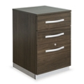 "Metropolitan 18""W Three Drawer Mobile Pedestal, 34948"
