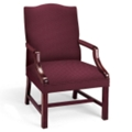 Fabric Traditional Guest Chair, 55481