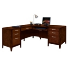 Lancaster Collection L-Desk with Left Return, 86205