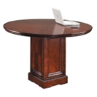 "Cobblestone Cherry 48"" Round Conference Table, 40739"