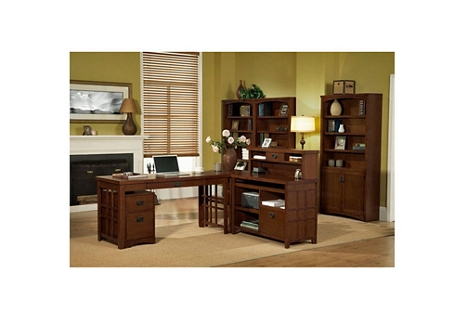 Mission Style Home Office Suite, 86229