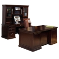 Espresso Three Piece Office Group, 15932