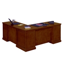 Statesman Executive L-Desk with Right Return, 13169