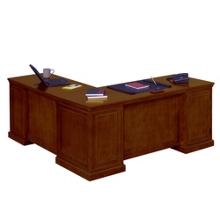 Statesman Executive L-Desk with Right Return, 13169