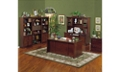 Huntington Cherry 7 Piece Office Suite, 86076