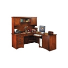 "Right Return L-Desk with Hutch - 64""W x 74""D, 13532"