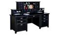 "Two Hutch Home Office Desk - 68.25""W x 32""D, 13536"