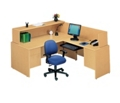 Reception L-Desk with Right Return, 10851