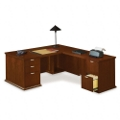 L-Desk with Right Return, 15868