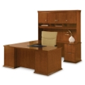 U-Desk Right Return with Hutch, 15882