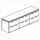 Lateral File Credenza, CD01718