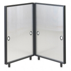 L Shape Privacy Divider 3'x3', 21010