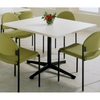 """WaveWorks 36"""" Square Bar Height Table, 44237"""