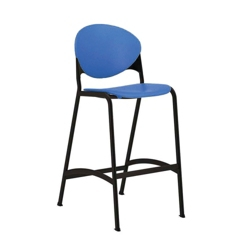 Cinch Armless Stool with Black Frame, 50827