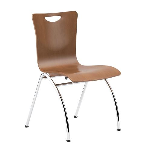 molded wood breakroom chair