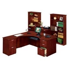 Clever L-Desk with Left Return Office Set, 86178